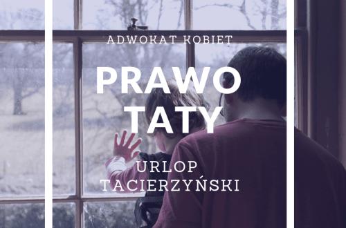 urlop tacierzyński