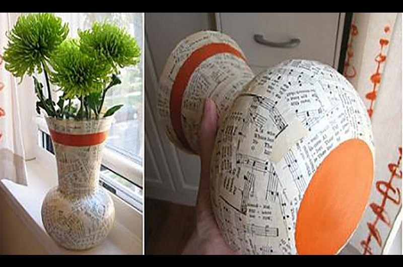 How To Decorate Walls With Newspaper Craft Ideas And Steps