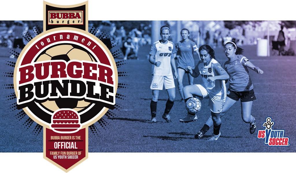 FUEL Soccer BUBBA burger Bundle