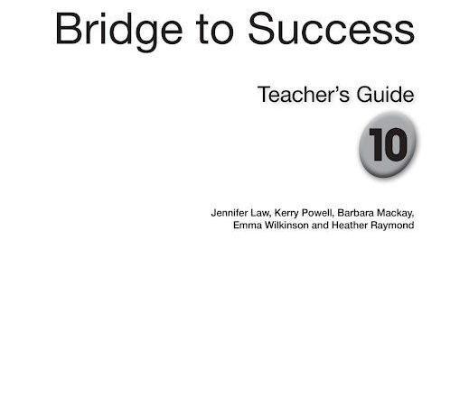 دليل المعلم لغة إنجليزية كامل الصف العاشر