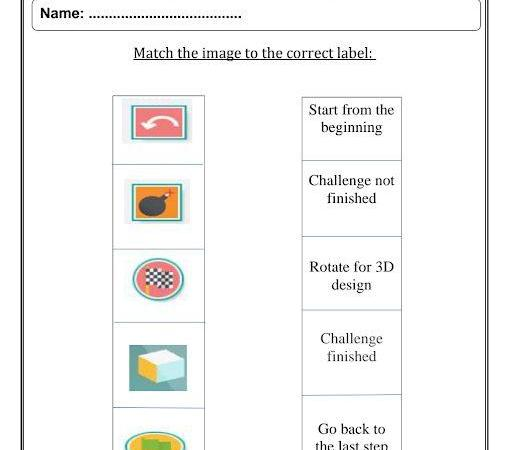 ورقة عمل تصميم وتكنولوجيا الصف الثالث الفصل الثالث
