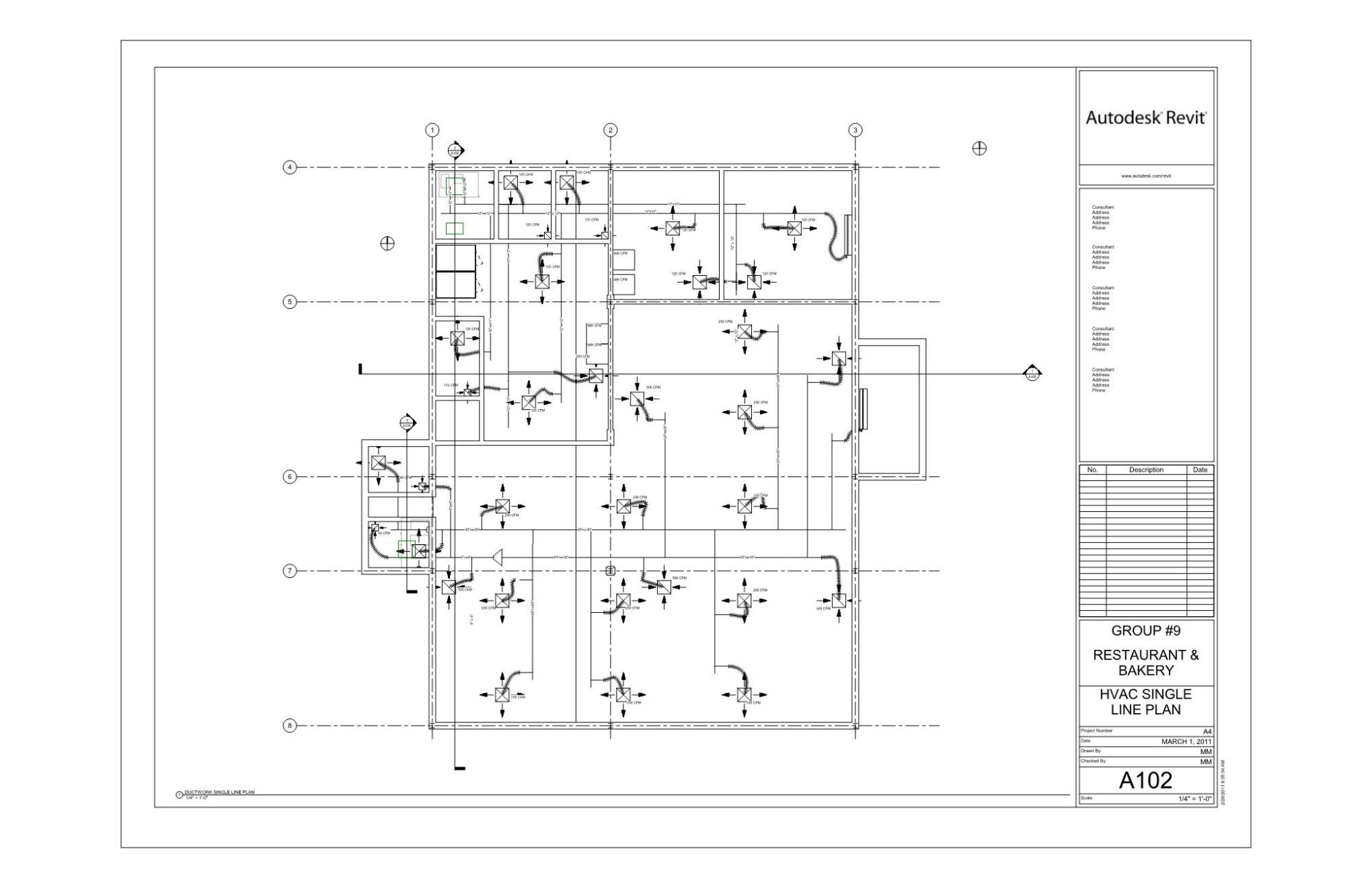 hight resolution of hvac drawings