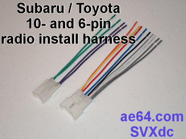 Subaru Outback Radio Wiring Harness As Well As Toyota Radio Wiring