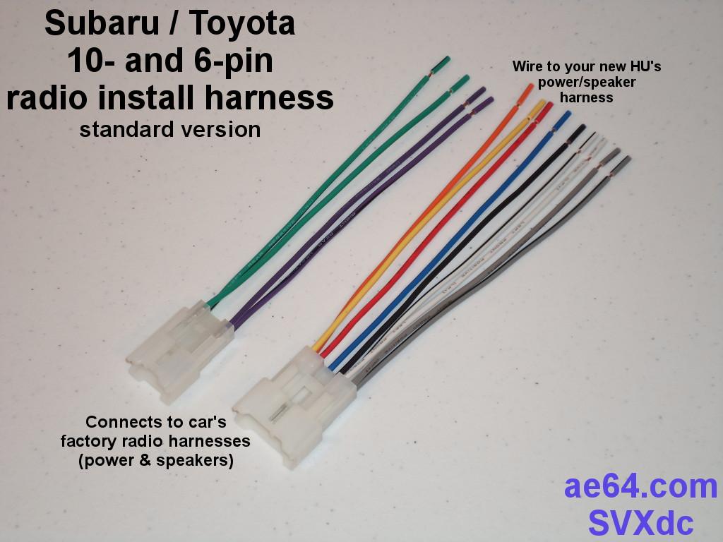 Subaru Impreza Radio Wiring