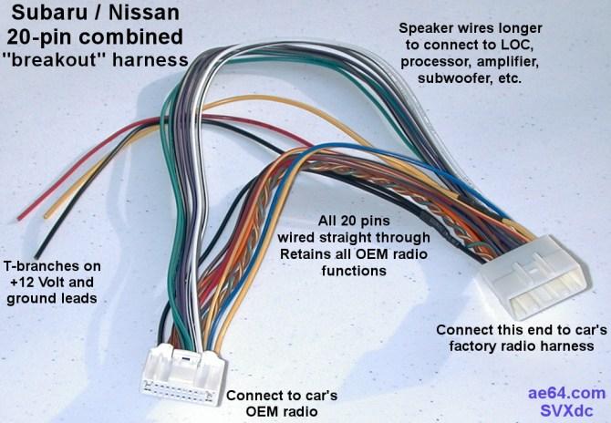 subaru wiring connector  more wiring diagrams lootscanner