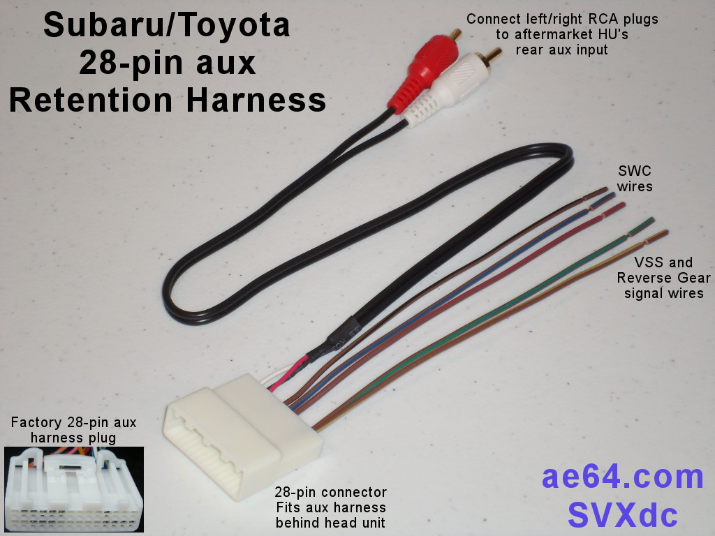 hight resolution of picture of subaru 28 pin aux retention harness