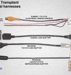 subaru ft transplant harness parts subaru ft transplant additional adapters [ 1024 x 768 Pixel ]