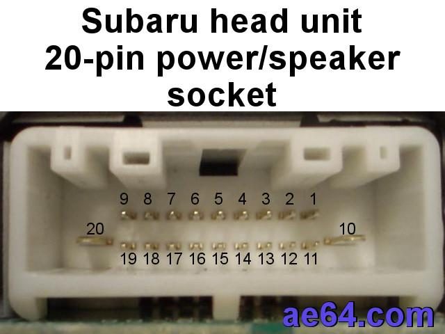 Subaru Radio Wiring Harness Subaru Stereo Wiring Harness Diagram