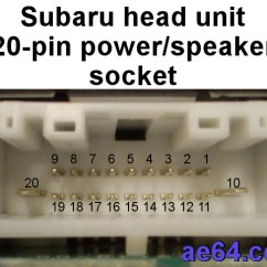 2001 Subaru Forester Stereo Wiring Diagram The Human Brain In Photographs And Diagrams 2010 Radio Great Installation Of 20 Pin Harness Out Rh Ae64 Com Satellite