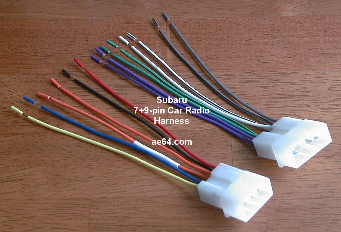 Ae64 Com Subaru Radio Wiring Harnesses Products Prices