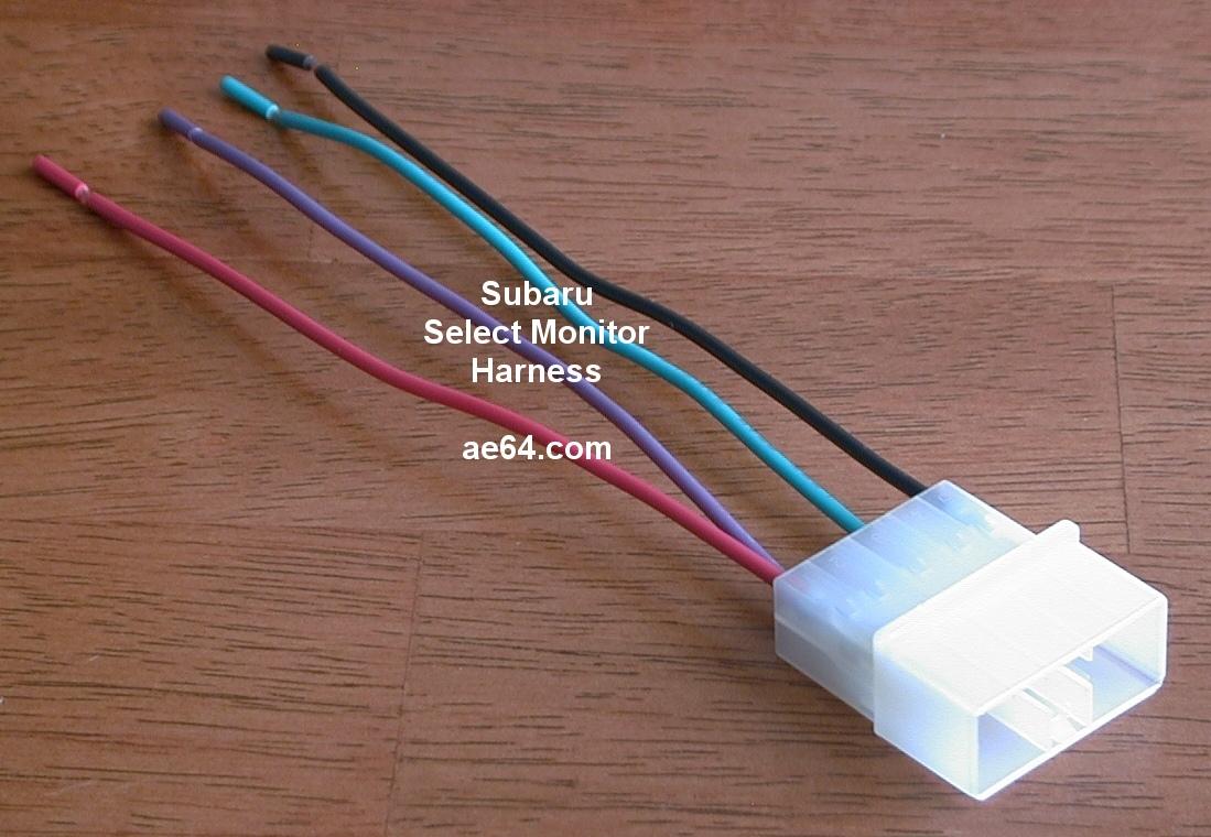Subaru_Select_Monitor_harness?resize\\=665%2C460 100 [ wiring diagram for fujitsu ten car stereo ] emejing  at gsmx.co
