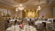 George Washington Room Sheraton Commander Wedding