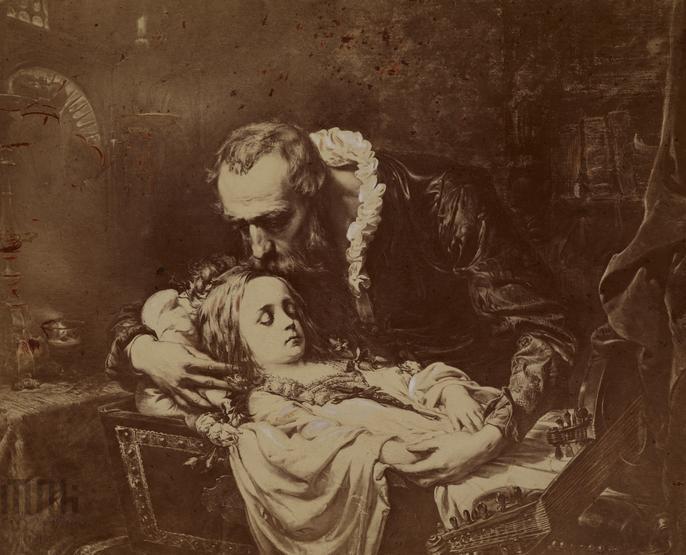 Jan Kochanowski over Urszulka's Dead Body