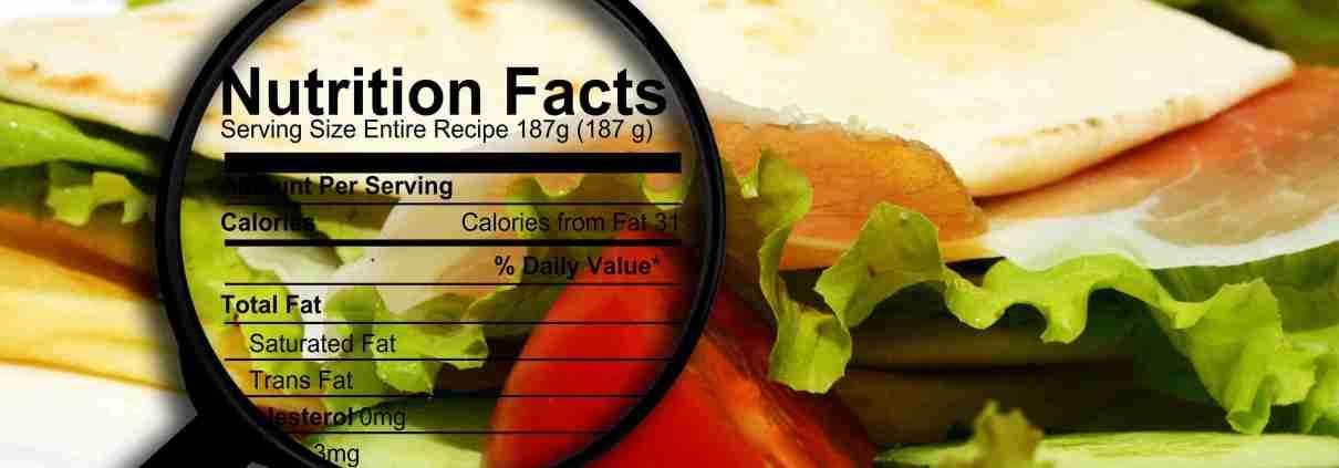 Programma per il calcolo dei valori nutrizionali