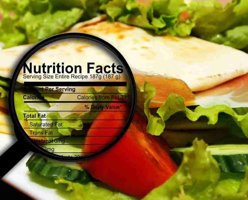 Programma per Calcolo dei Valori Nutrizionali