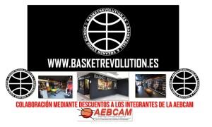 Beneficios AEBCAM Socios – BasketRevolutión – Descuentos en tiendas