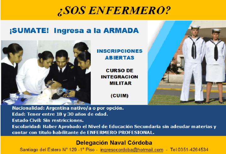 Propuesta Laboral Armada Argentina.