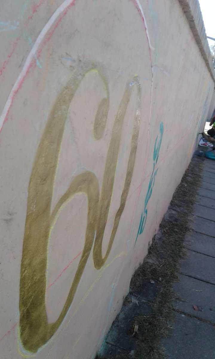 Actividades por los 60 años de AEC - Pintada de Mural - 16
