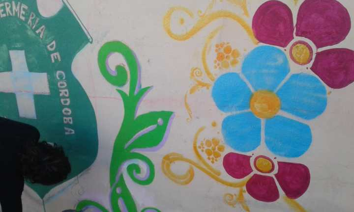 Actividades por los 60 años de AEC - Pintada de Mural - 19