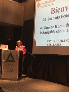 AEC EN LA 24ª JORNADA FEDERAL DE ENFERMERÍA - 27 de septiembre de 2019 en Centro Costa Salguero 4