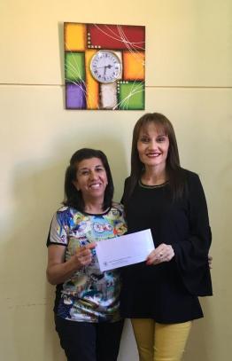 Sorteo mensual para los socios de AEC. Ganadora de octubre: Genoveva Ávila