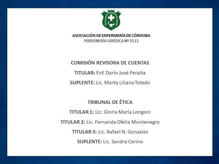Nuevas autoridades de AEC 3