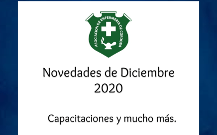 Noticias, capacitaciones y más - Diciembre 2020