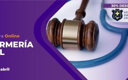 BENEFICIOS PARA NUESTROS/AS SOCIOS/AS - 30% de descuento en la Diplomatura de Enfermería Legal