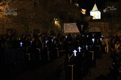Jesús Condenado Horario: 00:30 con salida de Palacio de los Golfines de Abajo y llegada a Ermita de San Blas