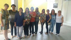 COM DIRIGENTES DA FEDERAÇÃO ESPÍRITA DO AMAZONAS