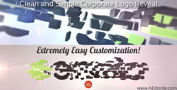 Clean and Simple Corporate Logo Reveal