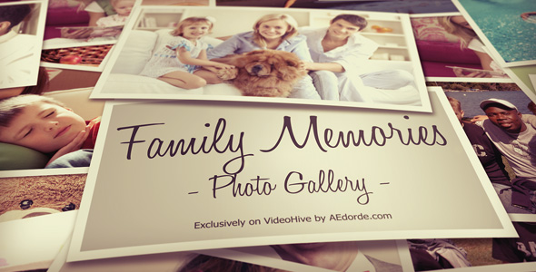 Photo Gallery - Family Memories