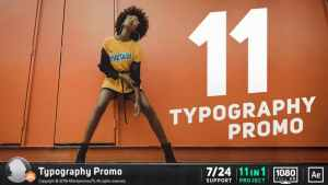 Typography Promo / Stomp