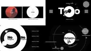 Dynamic Typographic Opener