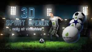 Soccer Night - 3D Sport Opener