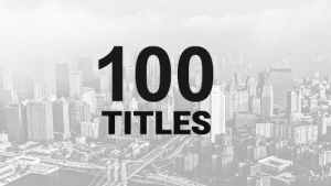 100 Titles Pack