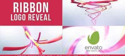 Ribbon Logo Reveal