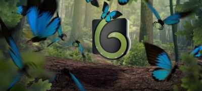 Butterfly Logo Opener 4K