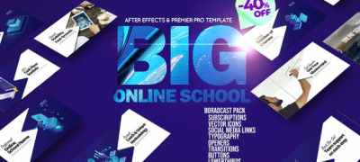 Big Online School Broadcast Pack