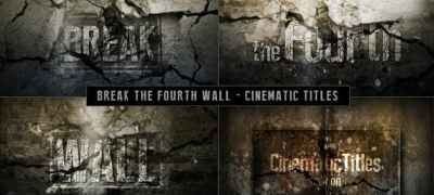 Cinematic Titles - Breaking The Fourth Wall