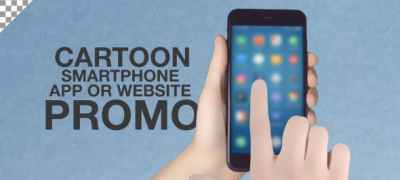 Cartoon Smartphone App Promo ToolKit