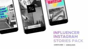 Influencer // Social Media - Instagram Stories Pack