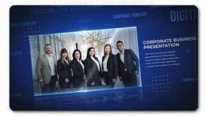 Corporate Business 3d Presentation