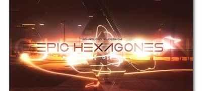Epic Hexagones Technology Slideshow