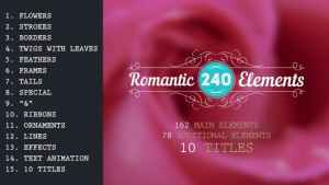 Romantic Elements & Titles