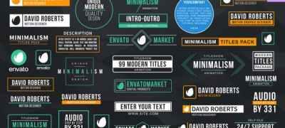 Minimal Titles & Lower Thirds