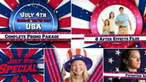 July 4th US Patriotic Broadcast Promo Pack