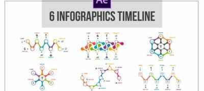 6 Infographics Timeline
