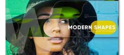 Modern Shapes Universal Slideshow