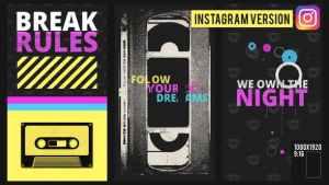 Own the night Instagram version